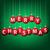 vidám · karácsony · csecsebecse · kártya · vektor · formátum - stock fotó © piccola