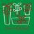 funky · ajándék · karácsonyi · üdvözlet · vektor · formátum · gyerekek - stock fotó © piccola