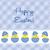 baba · húsvét · kártya · vektor · formátum - stock fotó © piccola