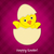 baba · csirke · húsvét · kártya · vektor · formátum - stock fotó © piccola