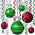 szalag · csecsebecse · karácsonyi · üdvözlet · vektor · formátum · fa - stock fotó © piccola