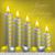 boldog · ünnepek · gyertya · csecsebecse · kártya · vektor - stock fotó © piccola