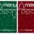 rosso · verde · mosaico · line · Natale · pranzo - foto d'archivio © piccola