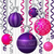 szalag · csecsebecse · karácsonyi · üdvözlet · vektor · formátum · absztrakt - stock fotó © piccola