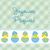 francia · baba · húsvét · kártya · vektor - stock fotó © piccola