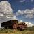 viharfelhők · Saskatchewan · antik · elhagyatott · teherautó · égbolt - stock fotó © pictureguy