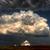 naplemente · Saskatchewan · templom · jávorszarvas · állkapocs · Kanada - stock fotó © pictureguy