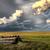 viharfelhők · Saskatchewan · fut · lefelé · elhagyatott · épület - stock fotó © pictureguy