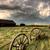 viharfelhők · Saskatchewan · vagon · kerekek · antik · égbolt - stock fotó © pictureguy