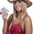женщину · кредитные · карты · женщины · счастье · банковской - Сток-фото © piedmontphoto