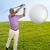 ゴルファー · 演奏 · 黒 · デジタル · 画像 - ストックフォト © piedmontphoto