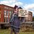 mulher · jovem · ajudar · assinar · caucasiano - foto stock © piedmontphoto