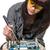 de · solda · mulher · ferramenta · computador · trabalhando - foto stock © piedmontphoto