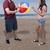 giocare · pallone · da · spiaggia · donna · uomo · natura - foto d'archivio © piedmontphoto