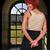 dedos · detrás · atrás · nina · cruces · mujer - foto stock © piedmontphoto
