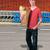 fiatalember · élelmiszer · vásárlás · áruház · étel · férfi - stock fotó © piedmontphoto