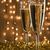 óculos · champanhe · dois · arco · bebidas - foto stock © pietus