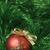 piros · arany · hópehely · karácsony · golyók - stock fotó © pietus