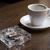 灰皿 · ガラス · 孤立した · 白 · 煙 · ストレス - ストックフォト © pietus