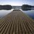 ahşap · iskele · sabah · köprü · göl · ufuk - stok fotoğraf © Pietus