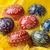 paskalya · yumurtası · el · yapımı · sarı · seçici · odak · sığ - stok fotoğraf © Pietus