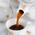 melk · beker · zwarte · koffie · tabel - stockfoto © pietus