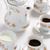 siyah · çay · seramik · çay · fincanı · Asya · geleneksel - stok fotoğraf © pietus