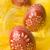 paskalya · yumurtası · üç · seçici · odak · ilk · bir · yumurta - stok fotoğraf © Pietus