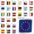 fully editable vector illustration of all twentyseven member states of the european union in web but stock photo © pilgrimartworks