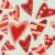 végtelen · minta · izolált · szívek · szerkeszthető · papír · textúra - stock fotó © PilgrimArtworks