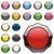 изолированный · веб · Кнопки · вектора · оранжевый - Сток-фото © PilgrimArtworks