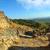 üst · görmek · eski · kale · dağlar · gökyüzü - stok fotoğraf © Pilgrimego