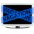 komputera · niebieski · wakacje · taśmy · biurko · ekranu - zdjęcia stock © pinkblue