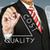 zakenman · trekken · tijd · kosten · kwaliteit · man - stockfoto © pinkblue