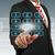 el · itme · düğme · dokunmatik · ekran · arayüz · iş - stok fotoğraf © pinkblue