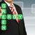 zakenman · hand · tekening · groene · energie · business · potlood - stockfoto © pinkblue