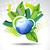 vector blue earth stock photo © pinnacleanimates