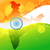 vector indian map with flag design stock photo © pinnacleanimates