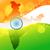 indian · wektora · Pokaż · Indie · banderą · streszczenie - zdjęcia stock © pinnacleanimates