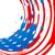 grunge · amerykańską · flagę · wektora · papieru · dziedzinie · banderą - zdjęcia stock © pinnacleanimates