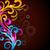 virágmintás · terv · mű · vektor · színes · eps10 - stock fotó © Pinnacleanimates