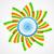 elegante · indio · bandera · diseno · vector · resumen - foto stock © pinnacleanimates