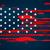 dia · grunge · bandeira · americana · patriótico · vintage - foto stock © pinnacleanimates