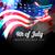 shiny american flag design stock photo © pinnacleanimates