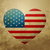 american flag heart stock photo © Pinnacleanimates
