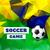 抽象的な · ベクトル · サッカー · スポーツ · チラシ · ポスター - ストックフォト © pinnacleanimates