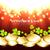 dourado · quadro · verde · trevo · folhas · preto - foto stock © pinnacleanimates