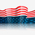 elegante · americano · dia · projeto · festa · bandeira - foto stock © pinnacleanimates