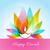 colorful diwali diya background  stock photo © Pinnacleanimates