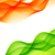 indian flag design made in wave style stock photo © pinnacleanimates